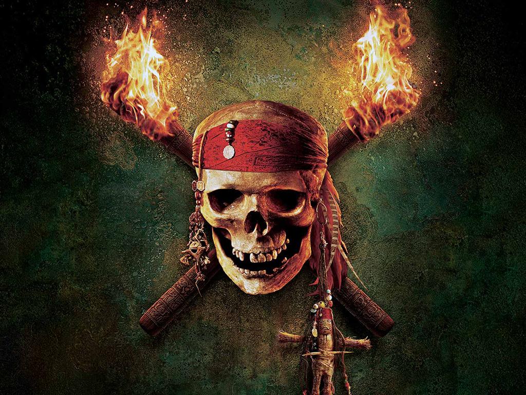 Tapeta na plochu v rozlišení 1024x768 piráti z karibiku 01