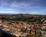 Obrázek - Letecký pohled na San Francisko