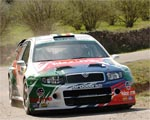 Obrázek - Škoda Fabia rally Catalunya