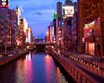 Obrázek - Osaka před setměním