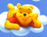 Obrázek - Medvídek Pú na obláčku