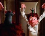 Obrázek - Myšák Remy se učí manipulovat s kuchaříkem v Ratatouille