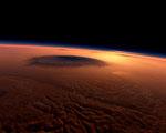 Obrázek - Olympos Mons největší sopka na Marsu