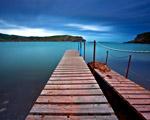 Obrázek - Jemné odpoledne u jezera