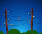 Obrázek - Ptáci na drátech