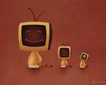 Obrázek - Televizní hlavy