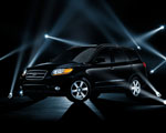 Obrázek - Černé Hyundai Santa Fe