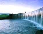 Obrázek - Jemný říční vodopád