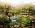Japonská digitální zahrada v HD