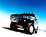 Obrázek - Hummer H2 pohled zpředu