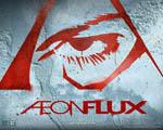 Obrázek - Sprejem na zeď nastříkané logo Aeon Flux