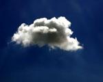 Obrázek - Malý mrak sám na nebi