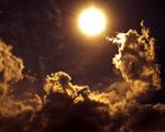 Obrázek - Unikátní snímek slunce a mraků