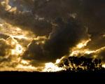 Obrázek - Východ zlatého slunce