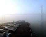 Obrázek - Letadlová Loď při východu slunce