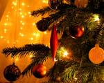 Obrázek - Vánoční ozdoby a vánoční stromek