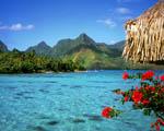 Obrázek - Zátoka Tranquil na ostrově Bora Bora ve Francouzské polynesii