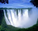 Obrázek - Viktoriiny vodopády v Zimbabwe