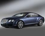 Obrázek - Modrý Bentley continental GT diamond series