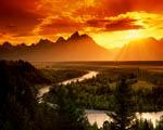 Obrázek - Řeka Snake v Národním parku Wyomingu