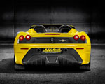 Obrázek - Ferrari Scuderia spider zadní pohled