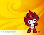 Obrázek - Olympijské hry v Pekingu v Číně 2008 maskot Huan Huan