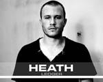 Obrázek - Heath Ledger černobíle