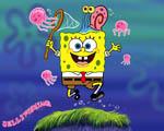 Obrázek - Sponge Bob na lovu