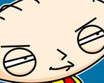 Obrázek - Lstivý Stewie ze seriálu Griffinovi