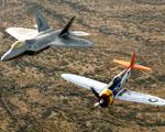 Obrázek - F22a a Stíhací letoun Raptor v tandemu