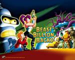 Obrázek - Futurama a Bestie s bilionem lupenů