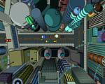 Obrázek - Ulice New Yorku v kresleném příběhu Futurama