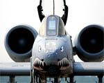 Obrázek - A-10 Thunderbolt-II pohled zepredu