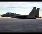 Obrázek - Stíhací letoun F-15 Eagle boční pohled