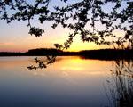 Obrázek - Klidný večer na jezeře