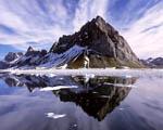 Obrázek - Hora a horské jezero