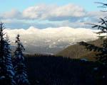 Obrázek - Zasněžené kopce hor a žádná civilizace