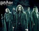 Obrázek - Sirius, Brumbál, Lupin, Tonkosová a bystrozor Pošuk Moody v Harry Potter a Fénixův řád