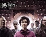 Obrázek - Dolores Umbridgeová, školník Filch, Draco Malfoy, Crabbe, Goyle a Kornelius Popletal