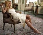 Obrázek - Anna Kournikova v bílých šatech