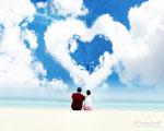 Obrázek - Zamilovaný pár na nejkrásnější planetě