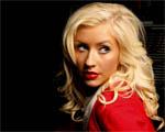 Obrázek - Christina Aguilera v červeném