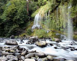 Obrázek - Klidná horská řeka