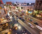 Obrázek - Hollywood boulevard ze střechy divadla