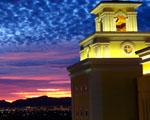 Obrázek - Východ slunce nad Las Vegas