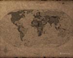 Obrázek - Mapa starého světa