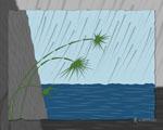 Obrázek - Déšť v Japonsku