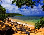 Obrázek - Pláž Shade na Havaji