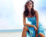 Obrázek - Allesandra Ambrosio v modrém oparu