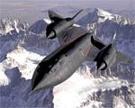 Obrázek - Vojenský letoun Blackbird SR-71